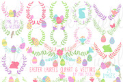 Easter Laurels Clipart and -Graphicriver中文最全的素材分享平台