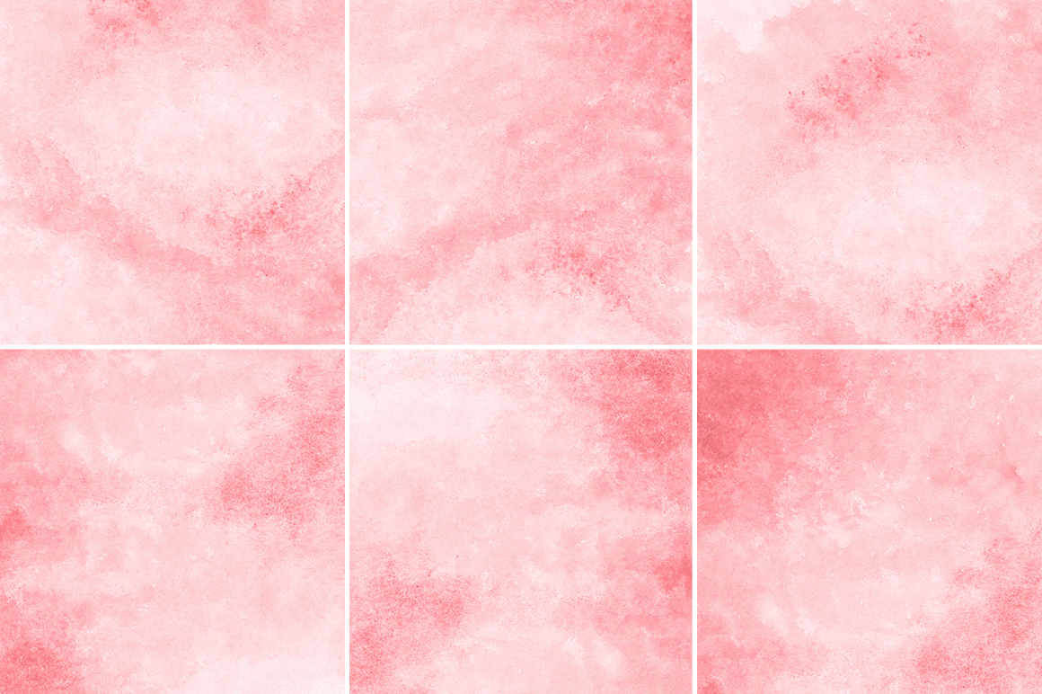 Coral Red Watercolor Backgrounds Textures On Creative Market
