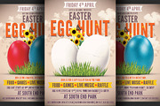 Easter Egg Hunt Flyer Templ-Graphicriver中文最全的素材分享平台