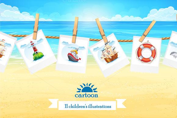 Set of children's illustration vol.2 - Illustrations