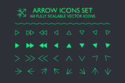Arrow Icons Set-Graphicriver中文最全的素材分享平台