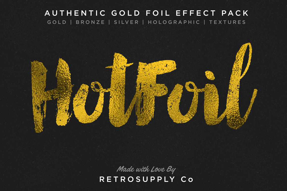Hot Foil | Foil Stamping Machine ~ Layer Styles on