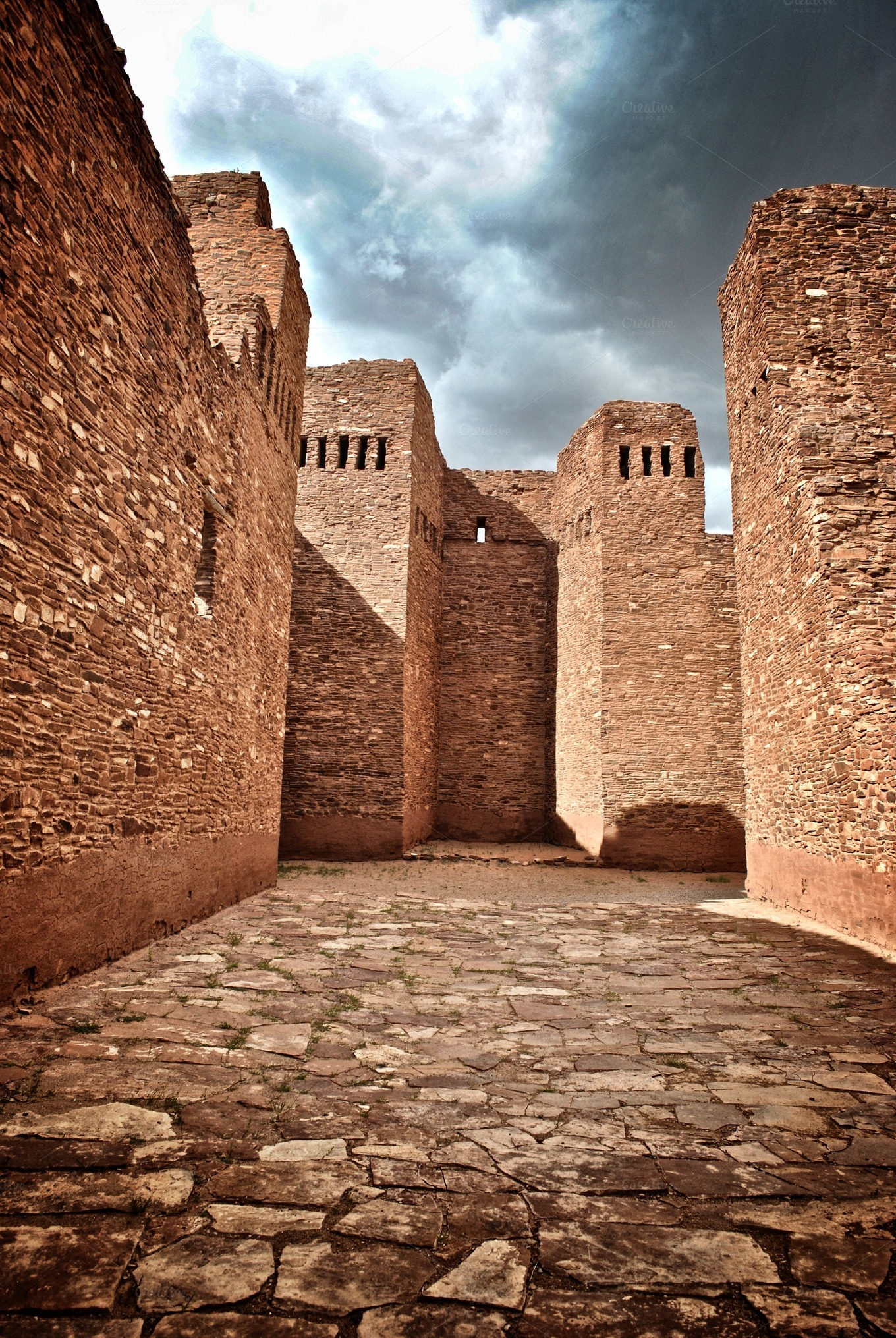 indian pueblo ruins