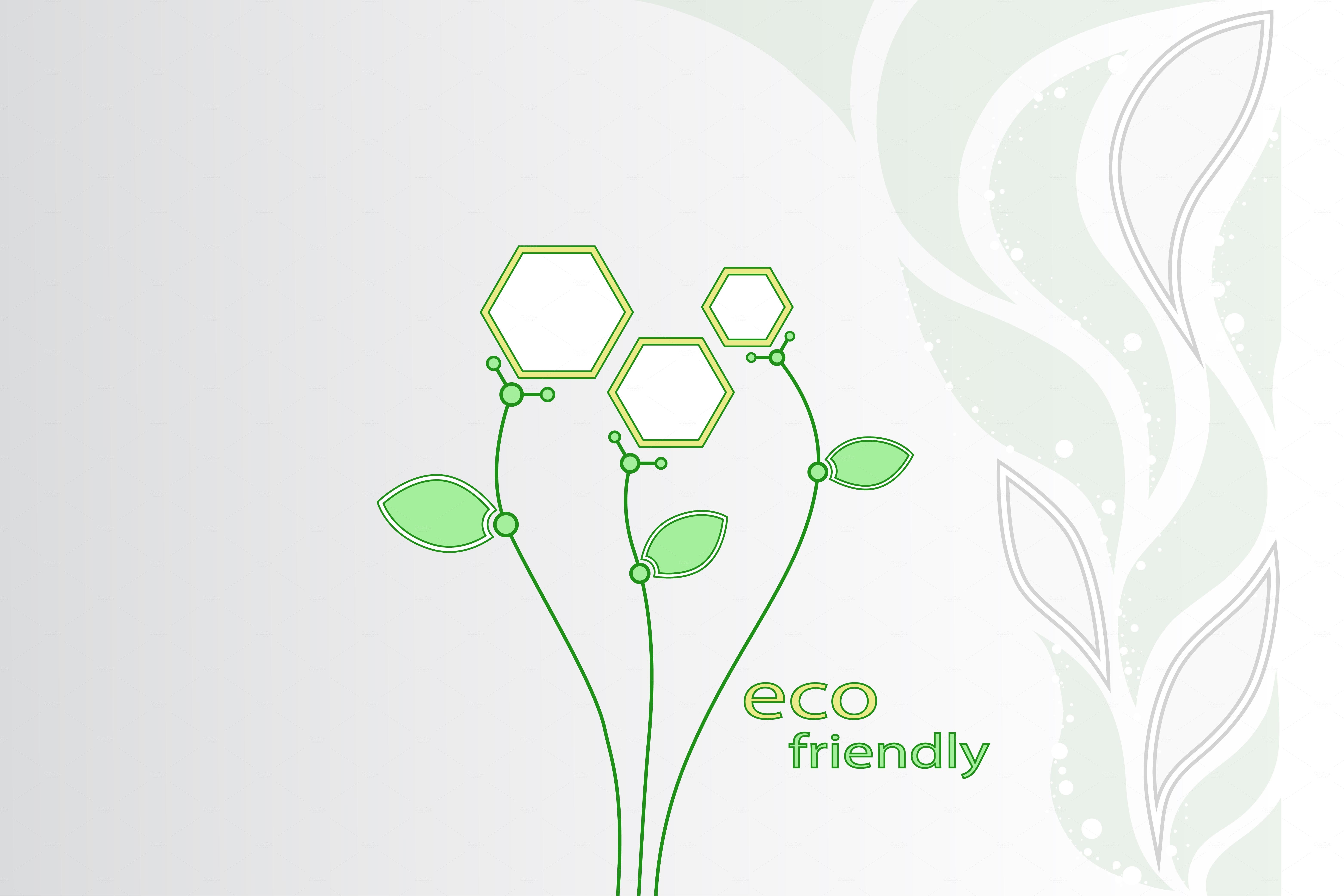 Abstract flowers Ecotechnology Illustrations on Creative Market
