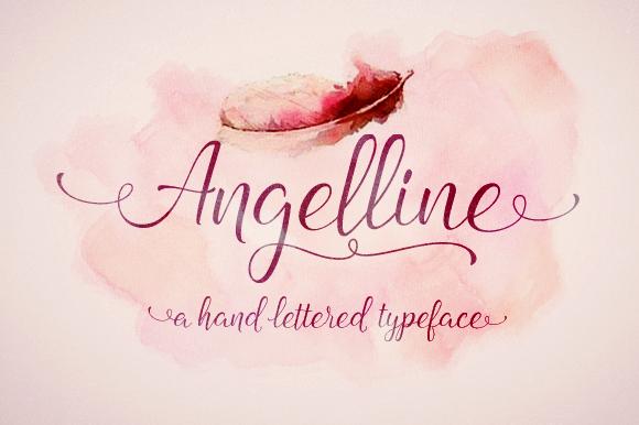 Angelline Script Font Download