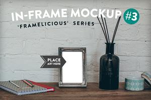Framelicious. In-Frame Mockup #3