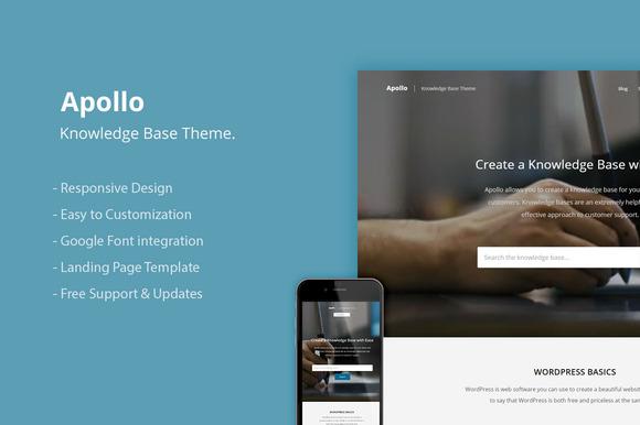 Knowledge Base WordPress Theme - WordPress - 1