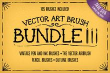 Vector Art Brush Bundle 3