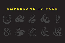 Sale! Ampersand 10-Pack