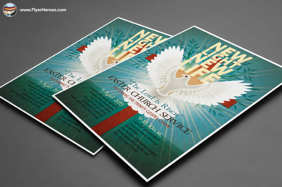 Illustrated Easter Flyer Template - Flyers - 2