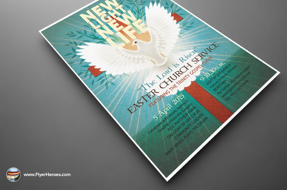 Illustrated Easter Flyer Template - Flyers - 3