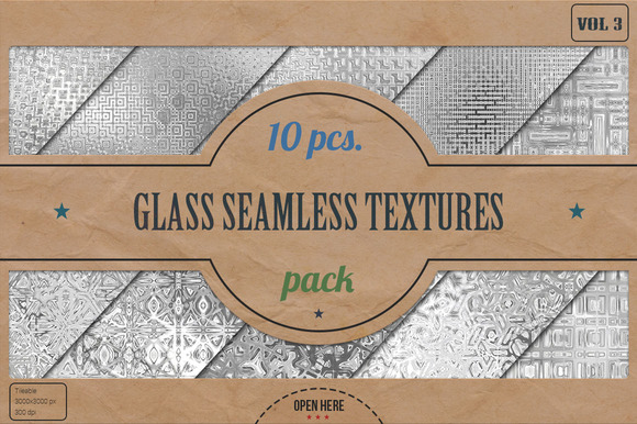 Glass Seamless HD Textures Pack v.3 - Textures