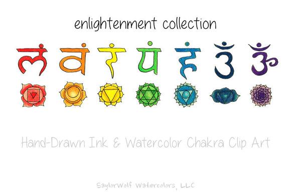 Yoga Chakra Clipart