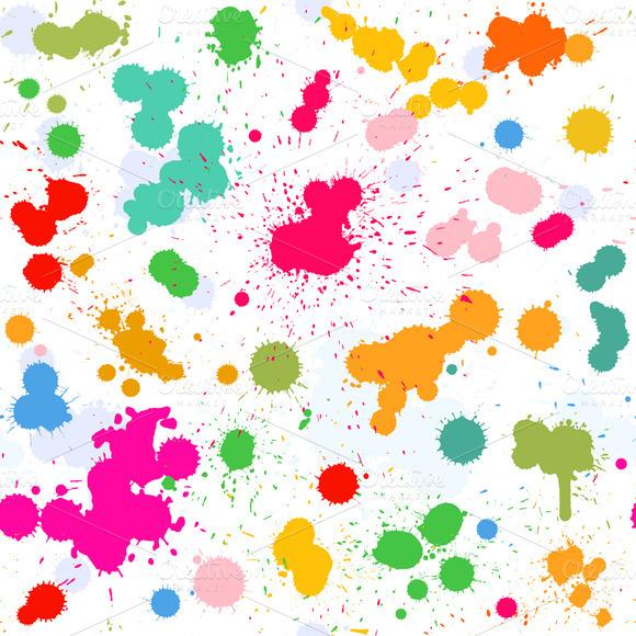 Watercolor Vector Pattern