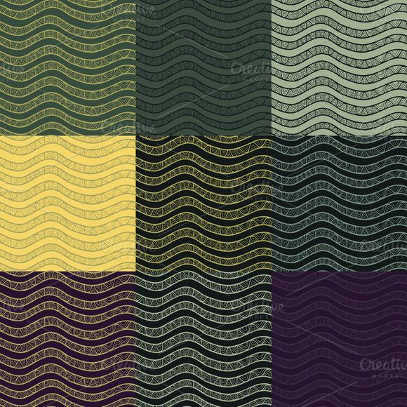 Elegant Contrast Vector Patterns