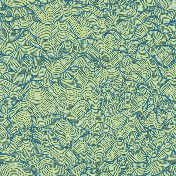 Doodle Wavy Seamless Pattern