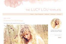 The Lucy Lou- Responsive WordPress