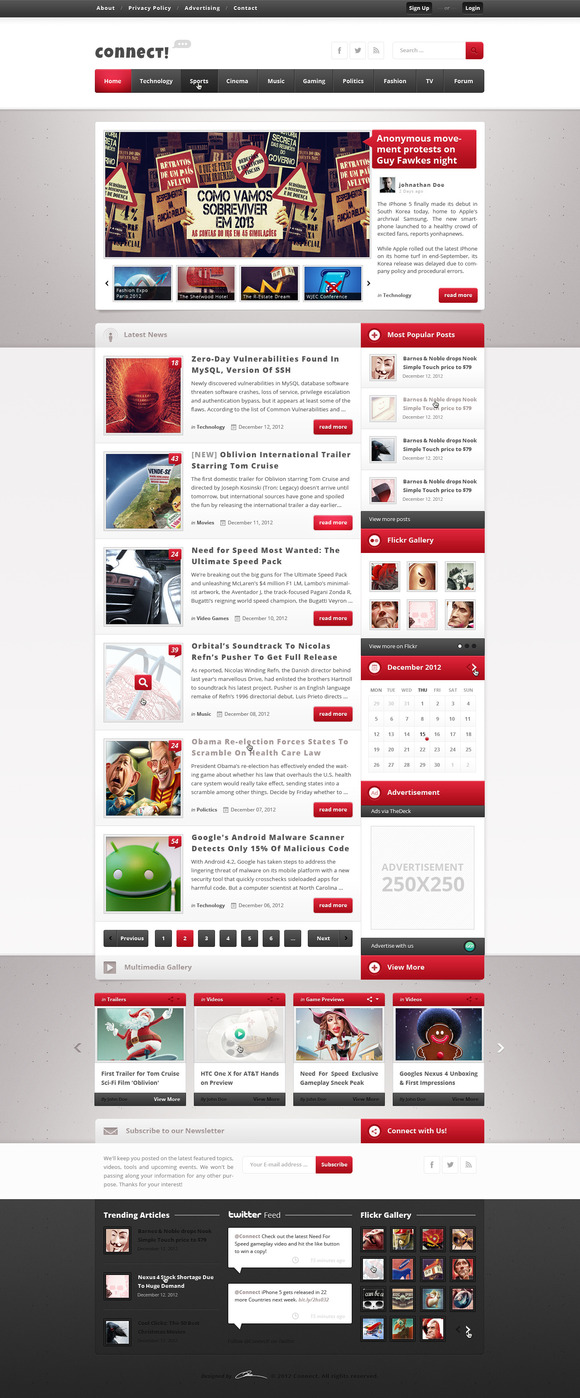 Connect Premium Magazine Template