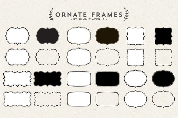 Ornate Decorative Frames