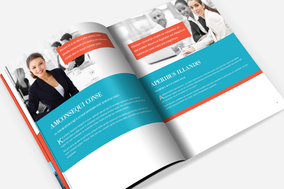 4 column brochure template - corporate brochure template brochure templates on