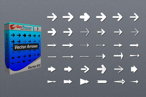 36 Vector Arrows