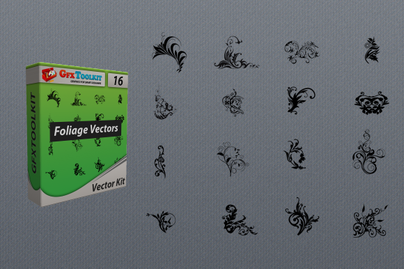 16 Foliage Vector Files