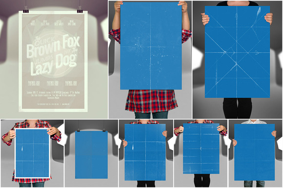 Awesome Poster Mock-ups