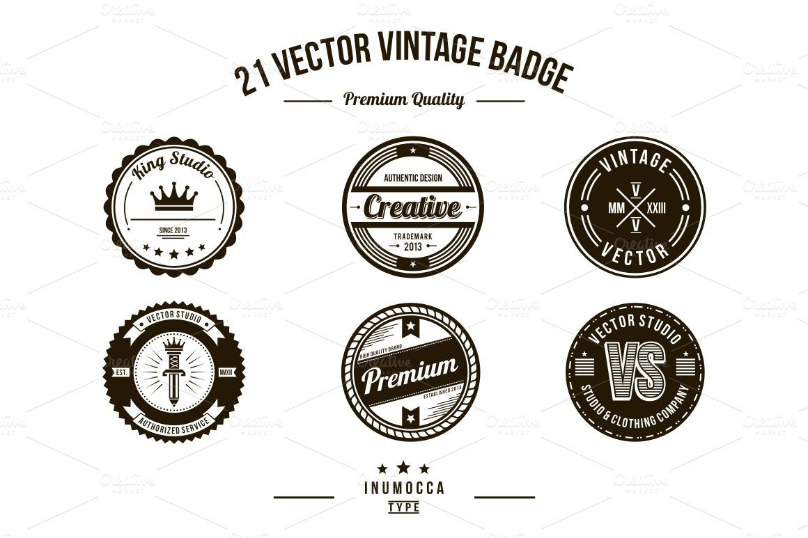 Free Vintage Logo Template