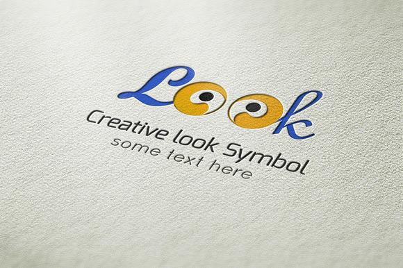 Creative Look Symbol Logo