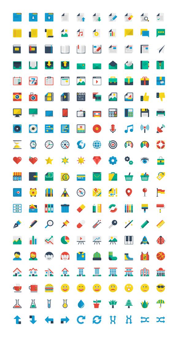 Flatilicious 200 icons - Icons - 3