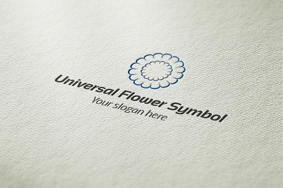 Universal Flower Symbol