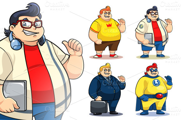 Mr Bigger Characters