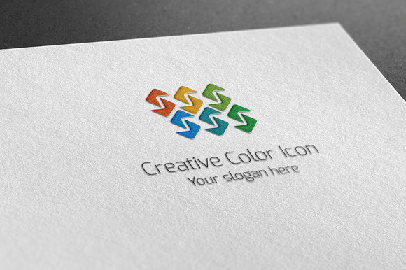Creative Color Icon Logo