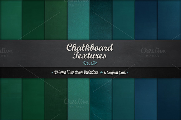 16 High Resolution Chalkboard Textures