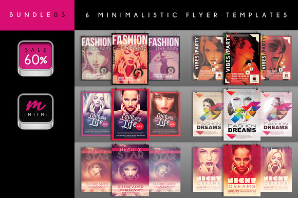 6 Flyer Templates Bundle