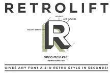 RetroLift - 3D PSD Actions