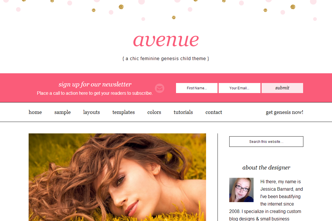 avenue wordpress magazine thème télécharger