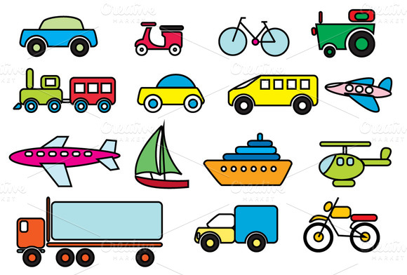 ENGLISH KIDS FUN: Means Of Transportation Online Worksheet