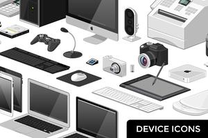 Device Icon Set