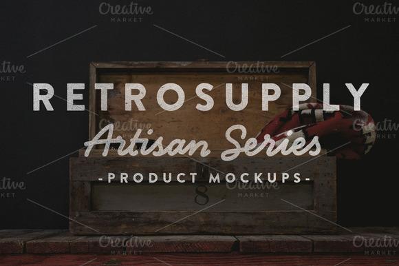 Artisan Photoshop Mock Ups - Product Mockups - 1