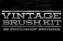 Vintage Brush Kit
