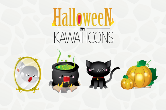 Halloween Kawaii Icons