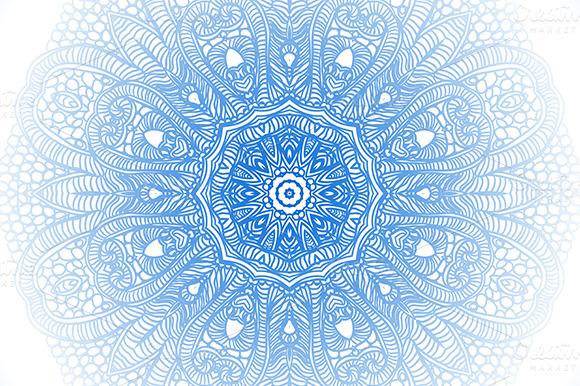 Ornamental round lace background ~ Patterns on Creative Market