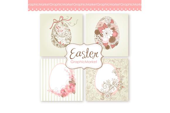 Easter Eggs Clip Art Easter Eggs