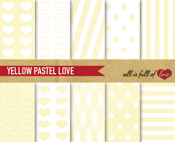 Yellow Background Patterns