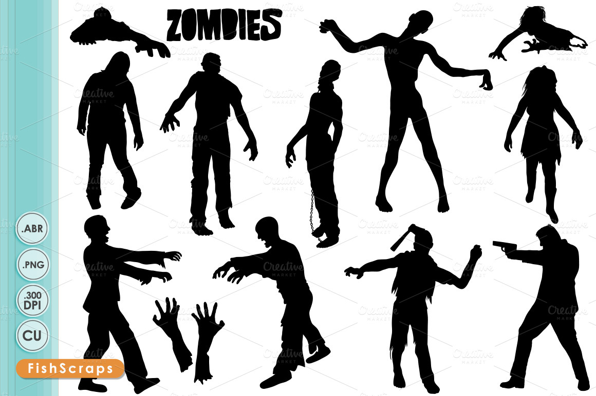 free zombie clipart images - photo #35
