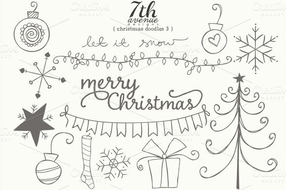 Die Merry Zeit Beginnt Lasst Uns Weihnachtsmotive Zeichnen