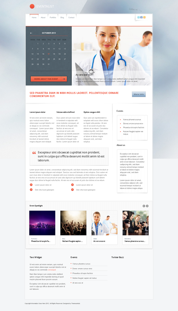 Eventalist Wordpress Theme