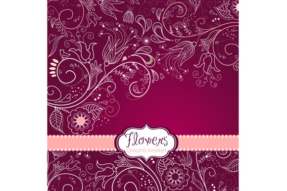 Flower Border Design Png 8 Flower Designs Floral Border