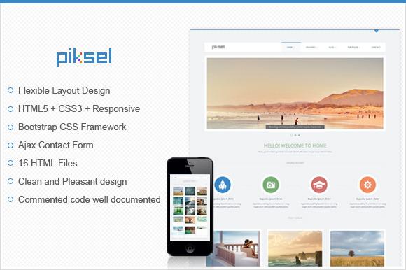 Piksel Multipurpose HTML Template